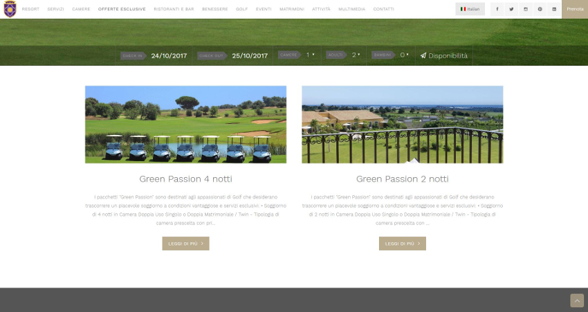 Donnafugata Golf Resort - News Section